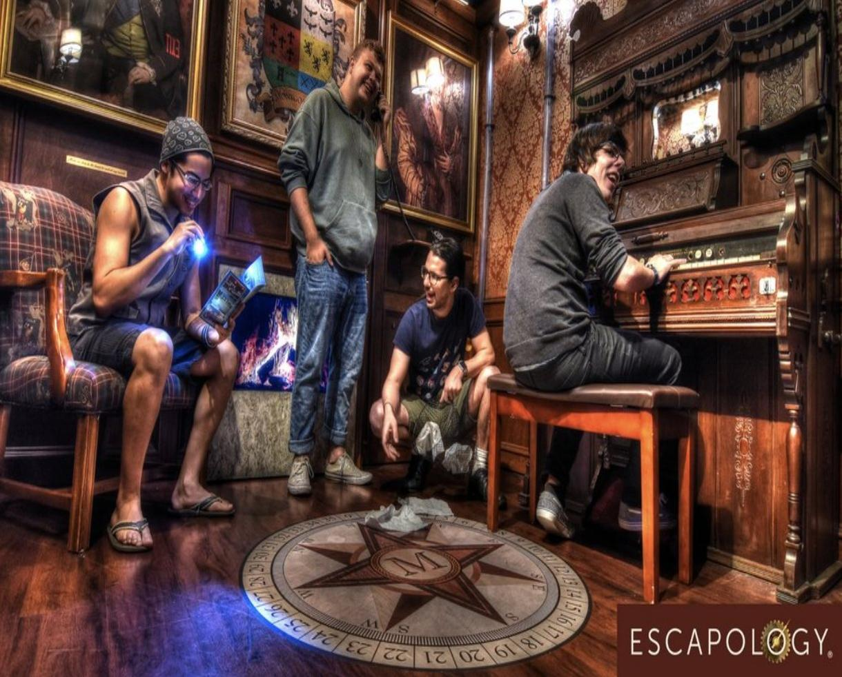 Escapology Room Escape Game for Four People - Valid Monday-Thursday