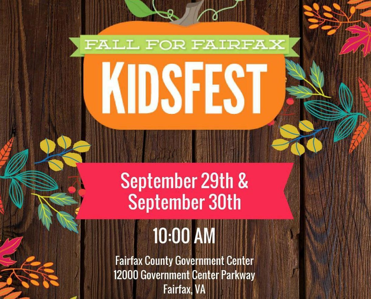 Fall For Fairfax KidsFest - 2 Unlimited Ride Super Passes & VIP Parking!