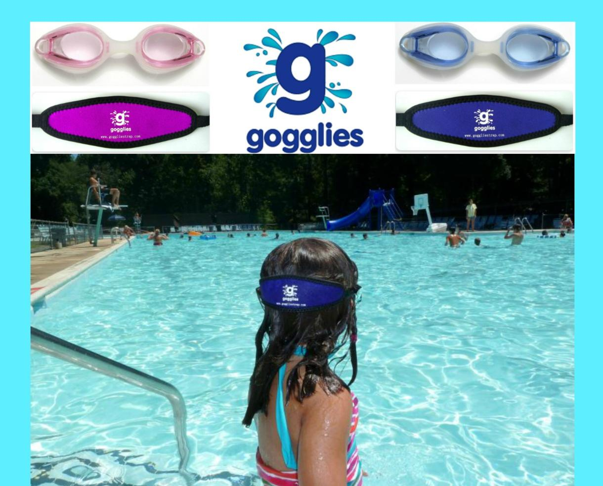 $15 for TWO Pairs of Gogglies - Comfortable Swim Goggles with Soft Strap - Includes Shipping! (61% Off)