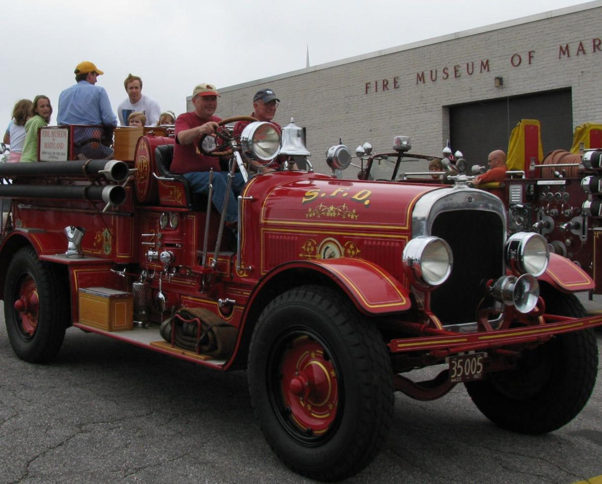$10 for Fire Museum of Maryland Admission for 2 - Holiday Events! (42% off)