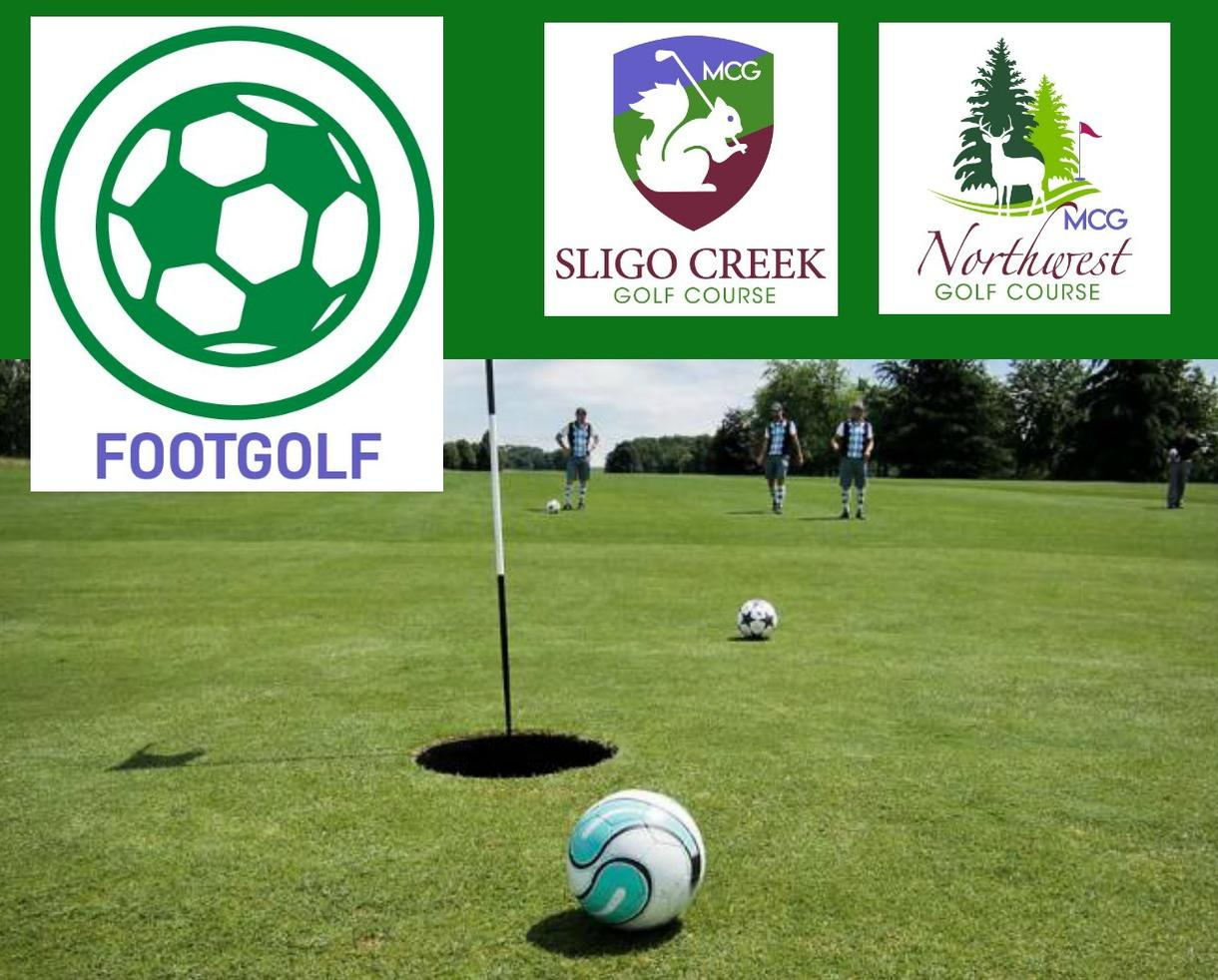 MCG Footgolf at Northwest or Sligo Creek Golf Course