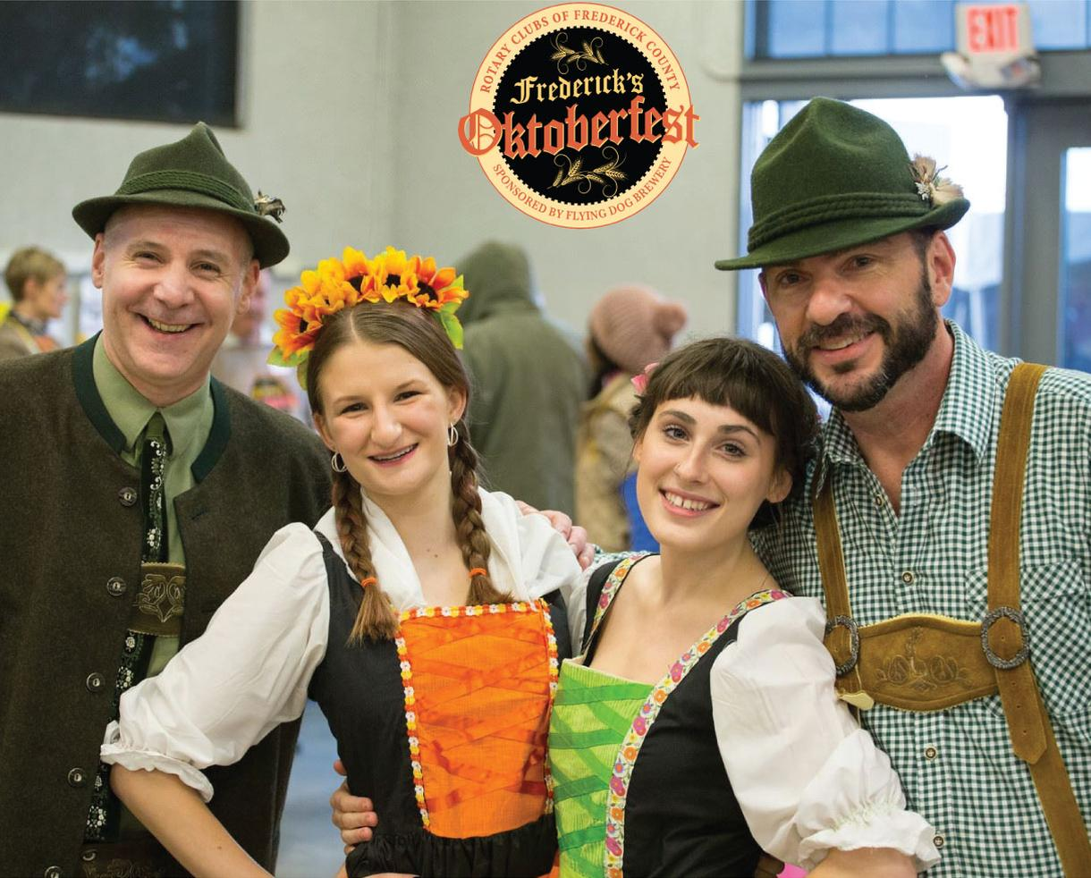 Family Four Pack Tickets to Frederick's Oktoberfest