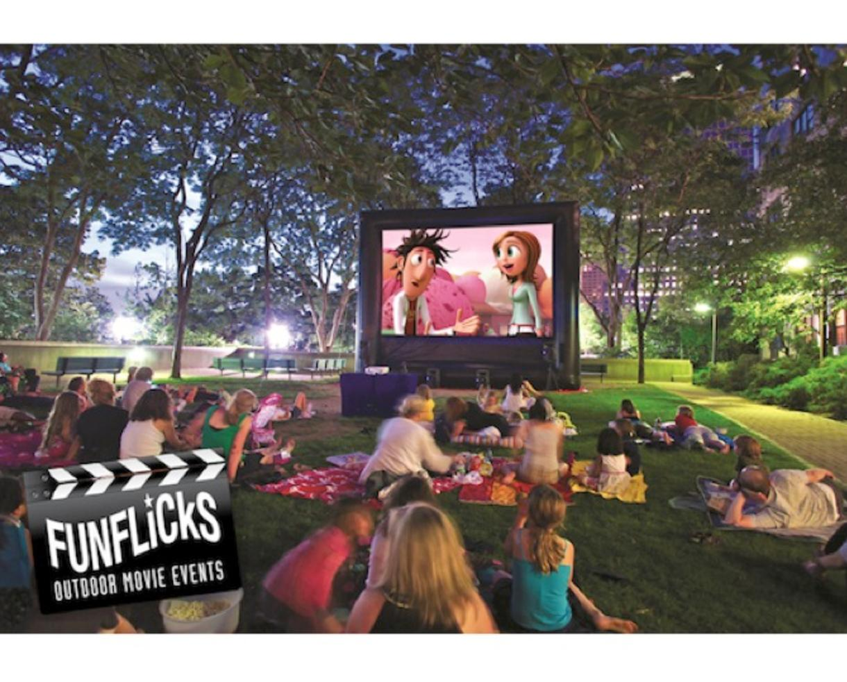 Deal 299 For Weekday Premiere Backyard Movie Party Package