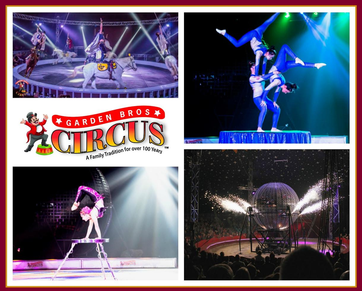 Adult Ticket to the Garden Bros Circus: Conyers, GA on October 29, 2018