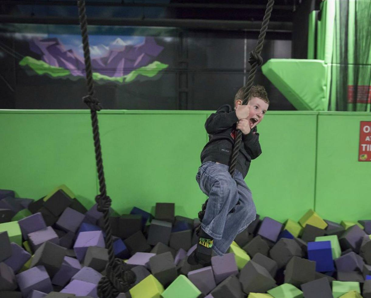 TWO 2-Hour Little Air Open Jump Admissions at BRAND NEW Get Air Trampoline Park