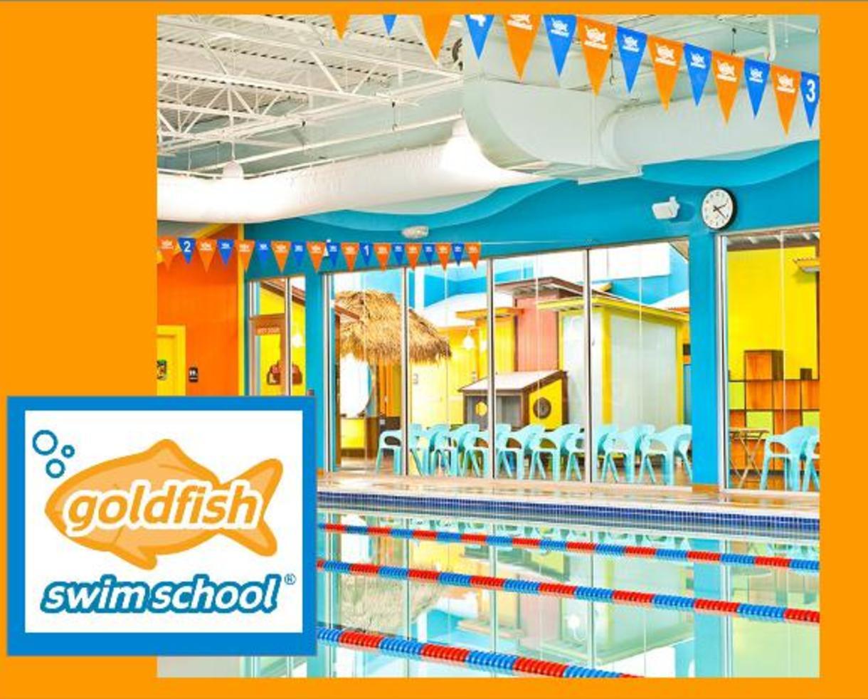 $120 for Six Swim Lessons at Goldfish Swim School in Columbia - $25 Deposit Paid Now (29% Off!)