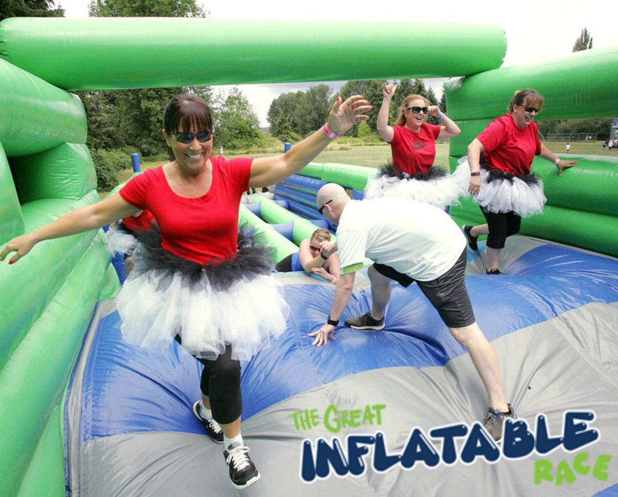 One Entry to The Great Inflatable Race March 17 at Lone Star Park