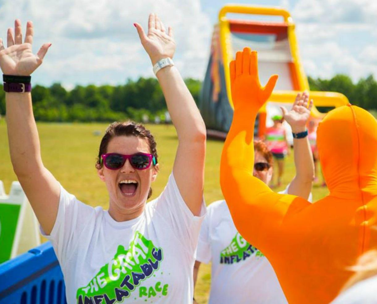 $24.99+ for One Entry to The Great Inflatable Race on November 10 in Atlanta (Up to 67% Off!)