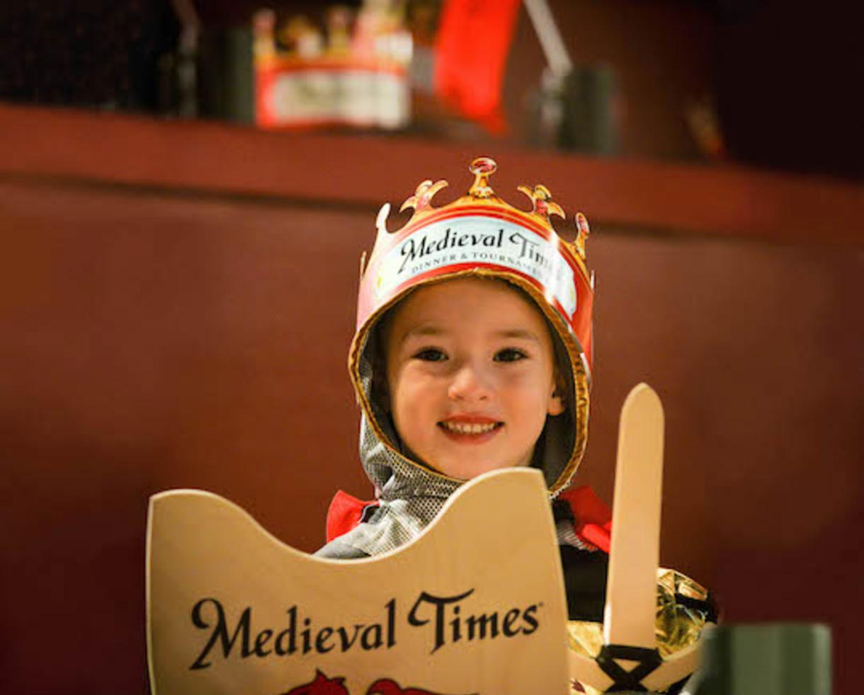 Join Medieval Times for Spring Break + Junior Knight Training FREE with Child's Admission for Ages 5-12 in Hanover (Up to 37% Off)