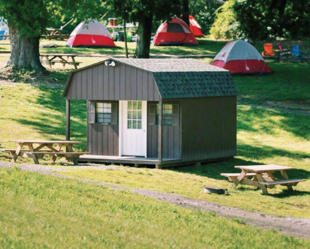 Harpers Ferry Adventure Center Cabin Stay