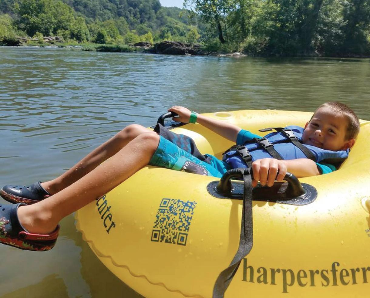 Harpers Ferry Adventure Center River Tubing