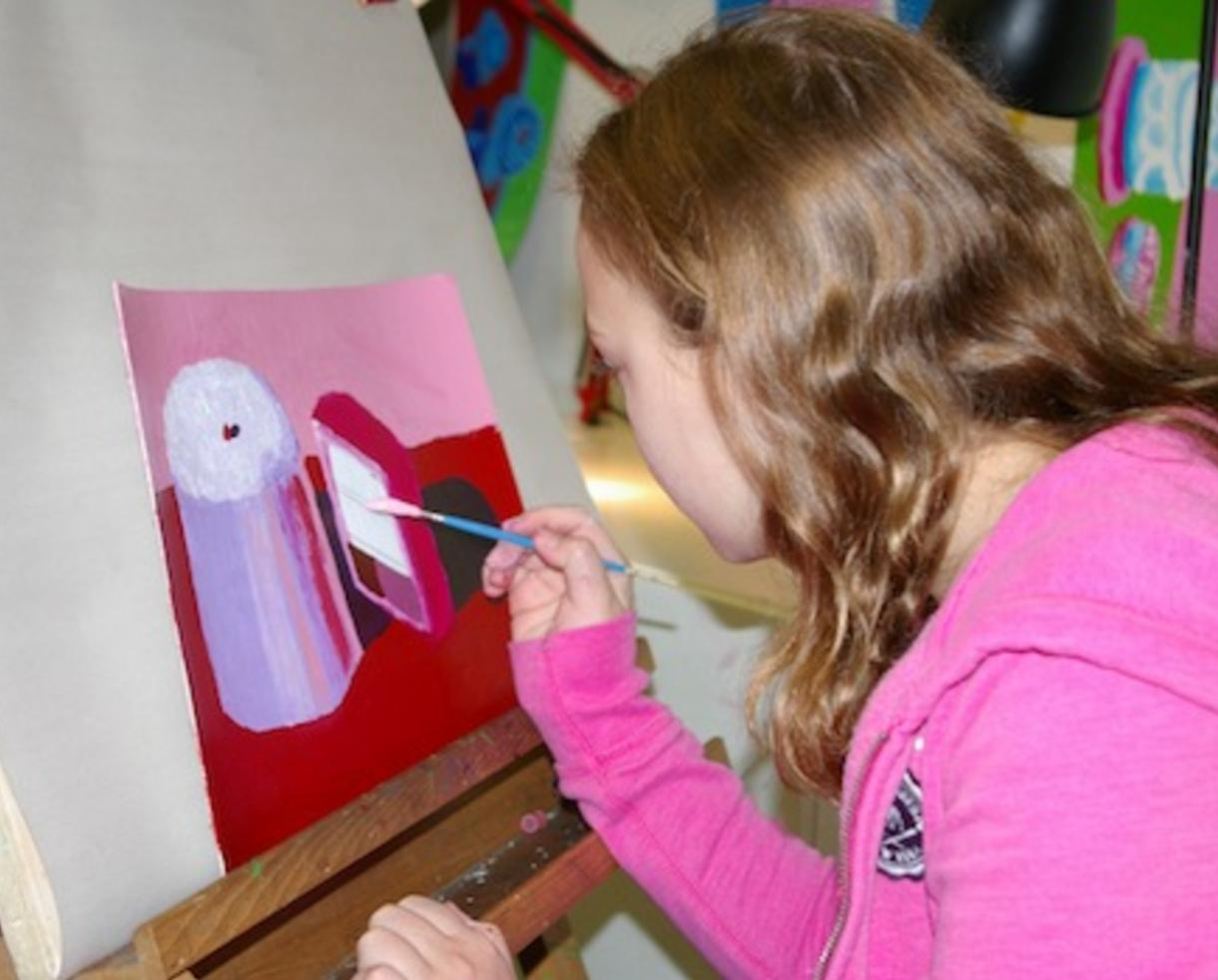 $14 for Sundaes and Canvas painting class at US Arts Center (44% a $25 Value)