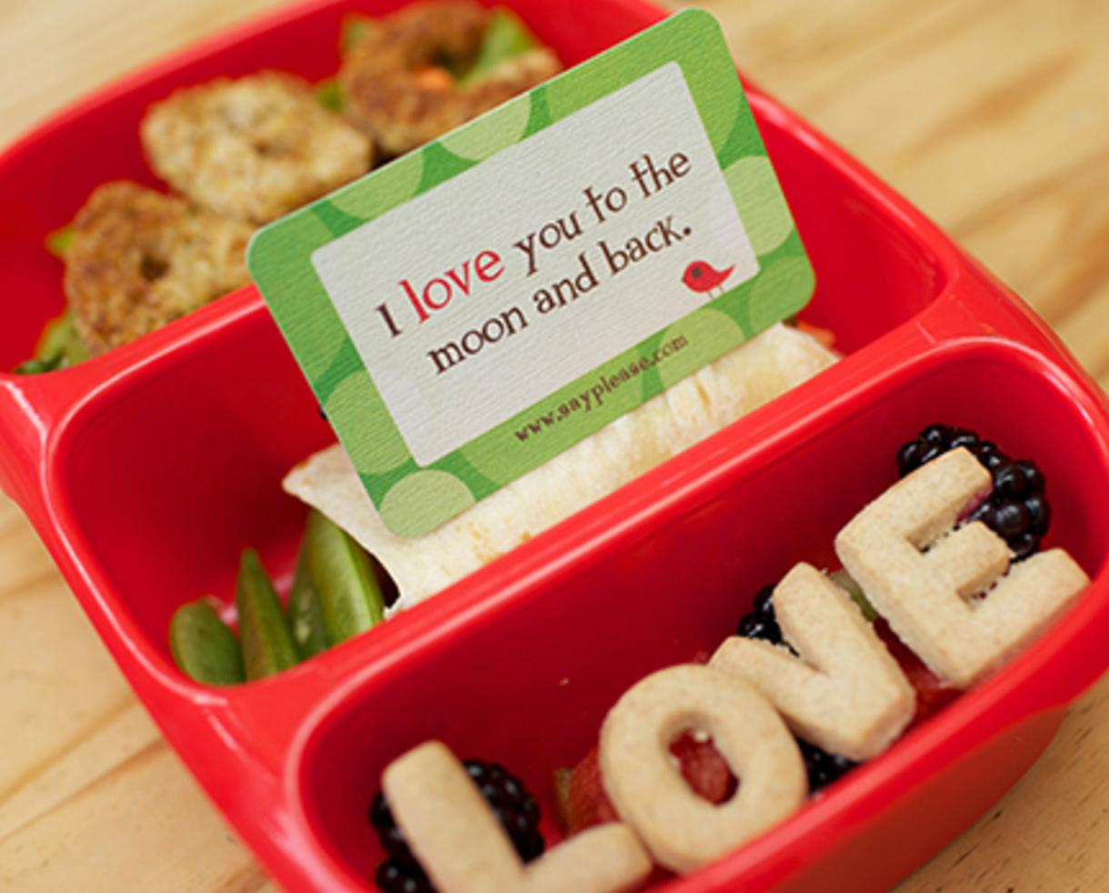 $12 for Half-Year of Creative Lunchbox Notes for Kids or $18 for Lunchbox Notes + Cool Design Sandwich Cutter (Up to 54% Off)