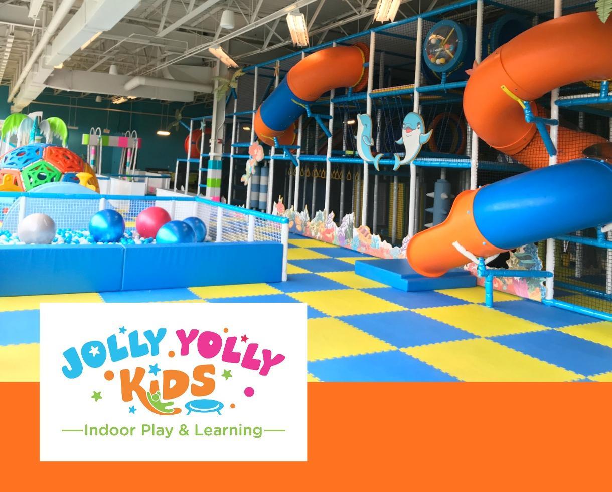 Jolly Yolly Kids Indoor Playground Pass