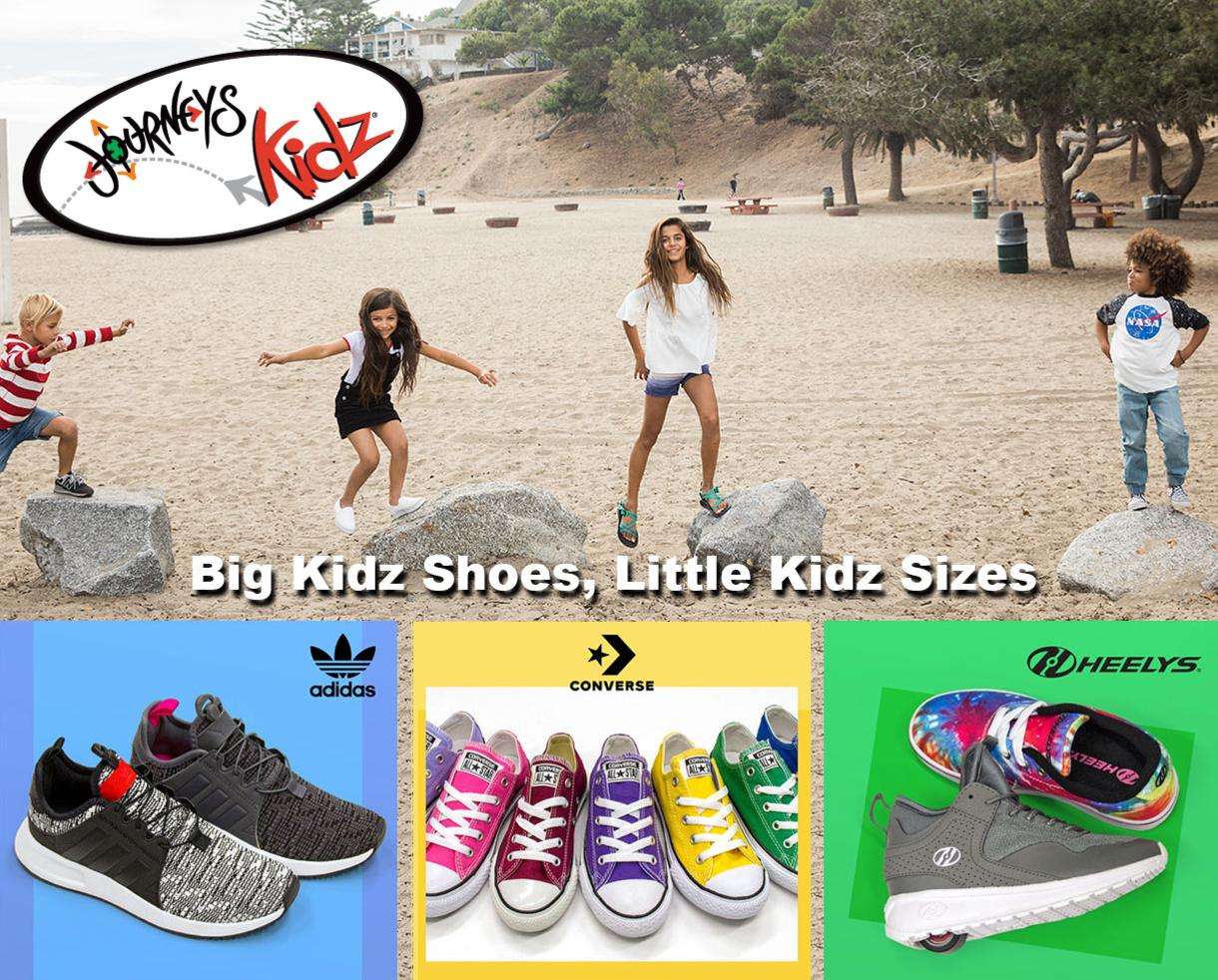 Save Up to 50% Off at Journeys KIDZ and Get Free Shipping on Orders $39.99+
