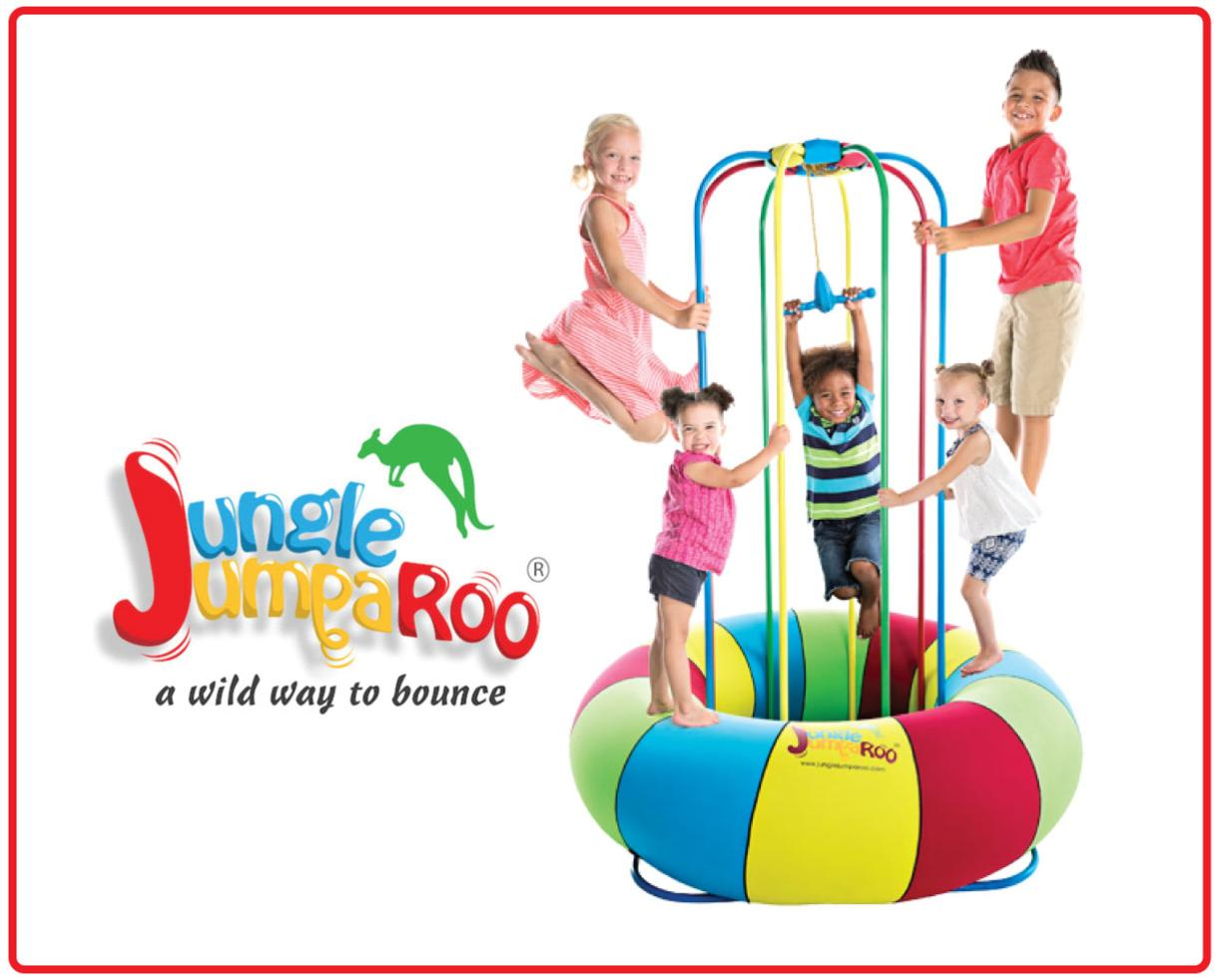 $299 for Jungle Jumparoo + Attachable Sprinkler - The Must Have Playground as Seen on Shark Tank! Includes Discounted Shipping! ($150 Off)