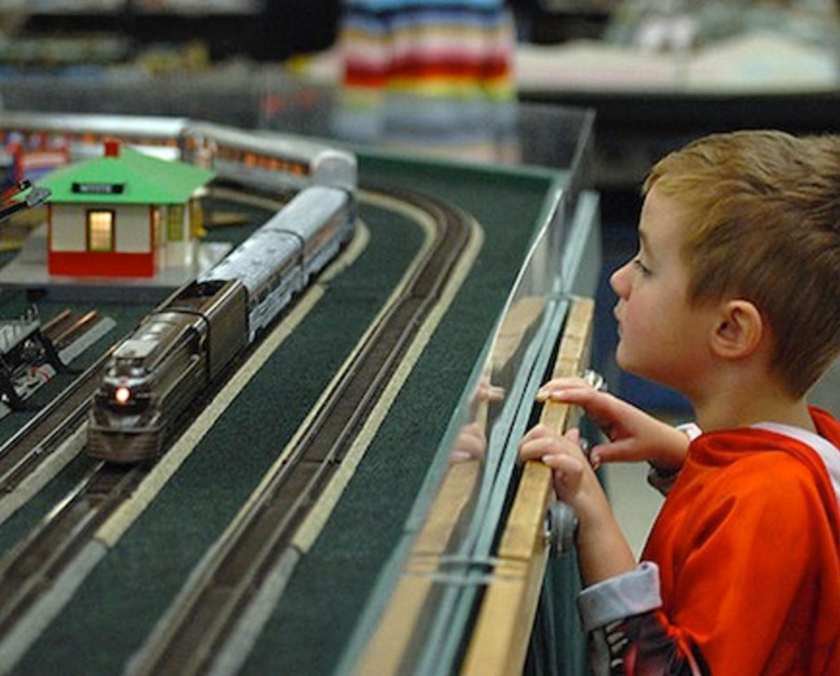 $7 for Two Adult Tickets to The Gaithersburg Model Train Show and The Gaithersburg Railroad, Steamship, and Transportation Show on November 4 (50% Off) KIDS FREE!
