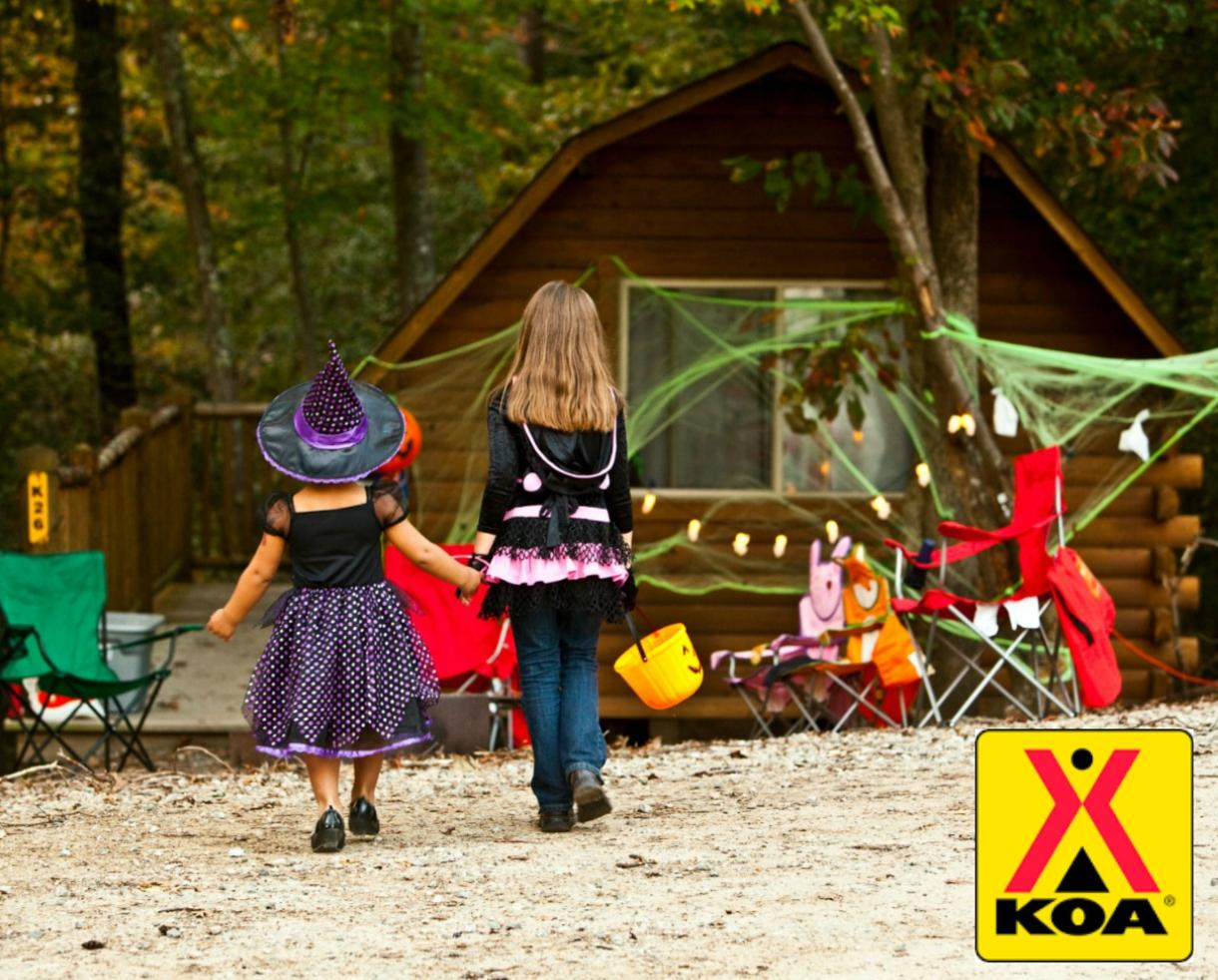$119 for Williamsburg KOA 2-Night CABIN or 3-Night CAMPSITE Getaway (Up to 60% Off!)