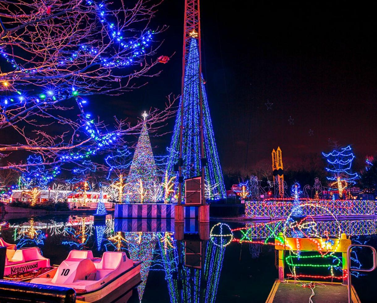 Deal: Kennywood Holiday Lights Admission | CertifiKID