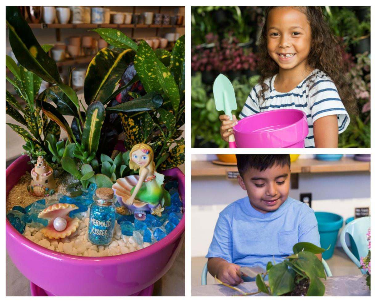 Le Petit Garden Mermaid or Unicorn DIY Garden Birthday Party