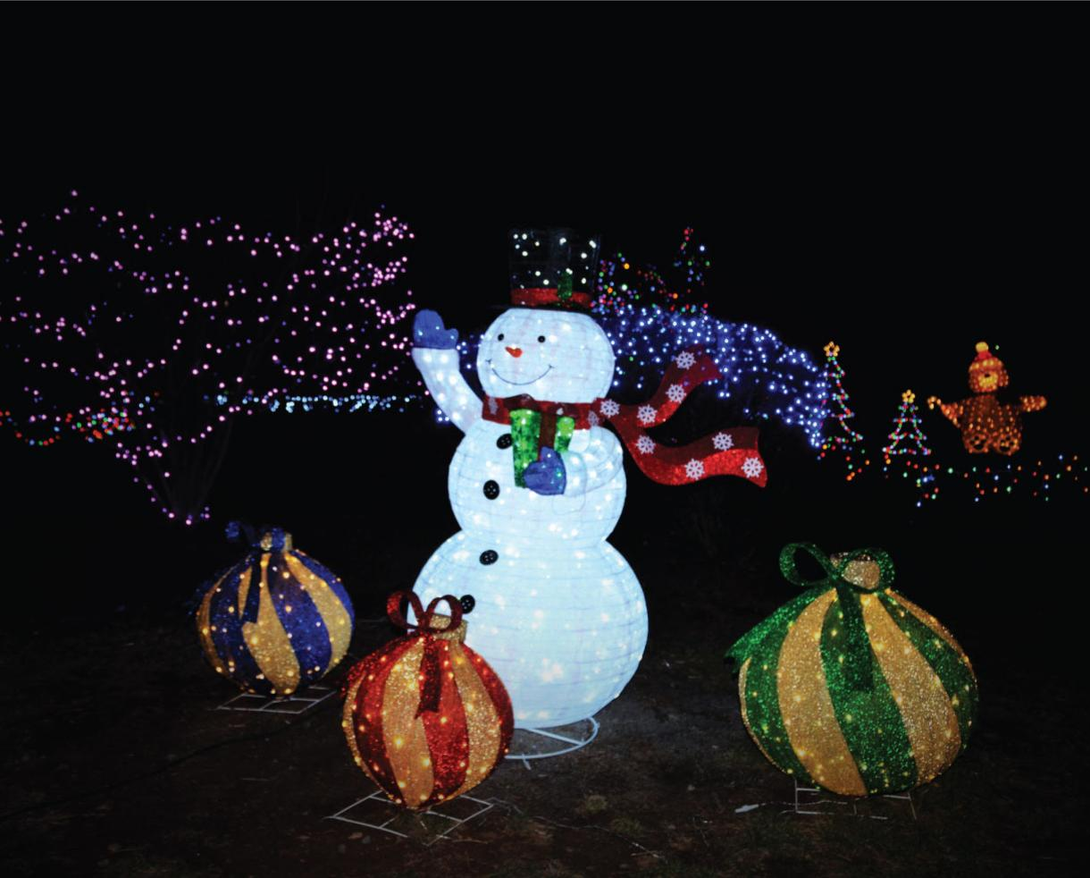 $14 for 2 Tickets to Christmas Village at Leesburg Animal Park ($19.90 Value - 30% Off)