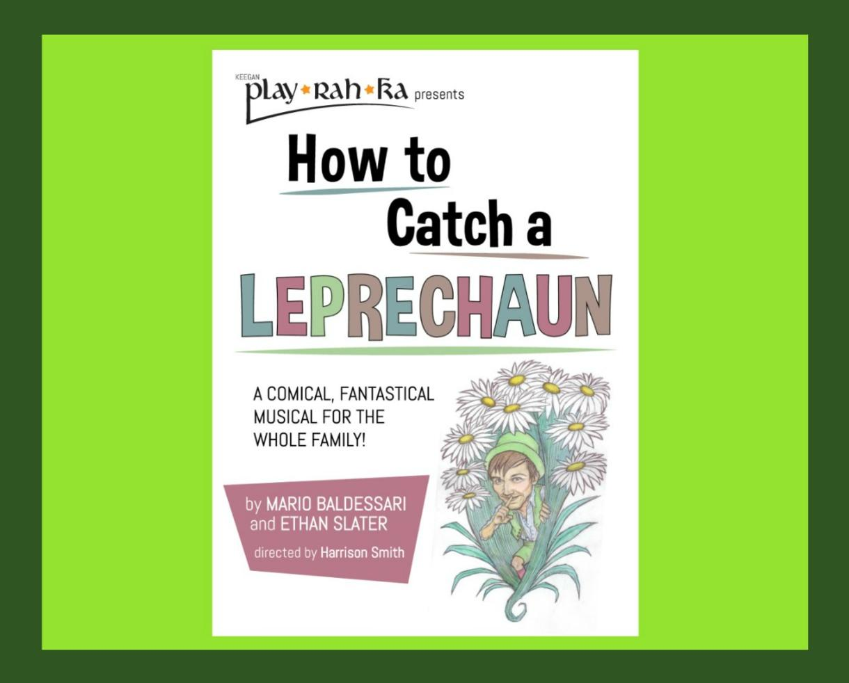 $10 for How To Catch a Leprechaun at Keegan Theatre in Dupont Circle - Great for Ages 3+! (34% Off)