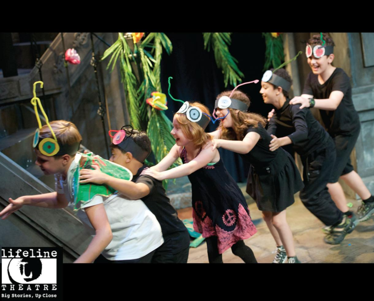 $140+ for Lifeline Theatre DRAMA KIDS & DRAMA STARS Summer Camp for Ages 5-12 in Chicago (31% Off)