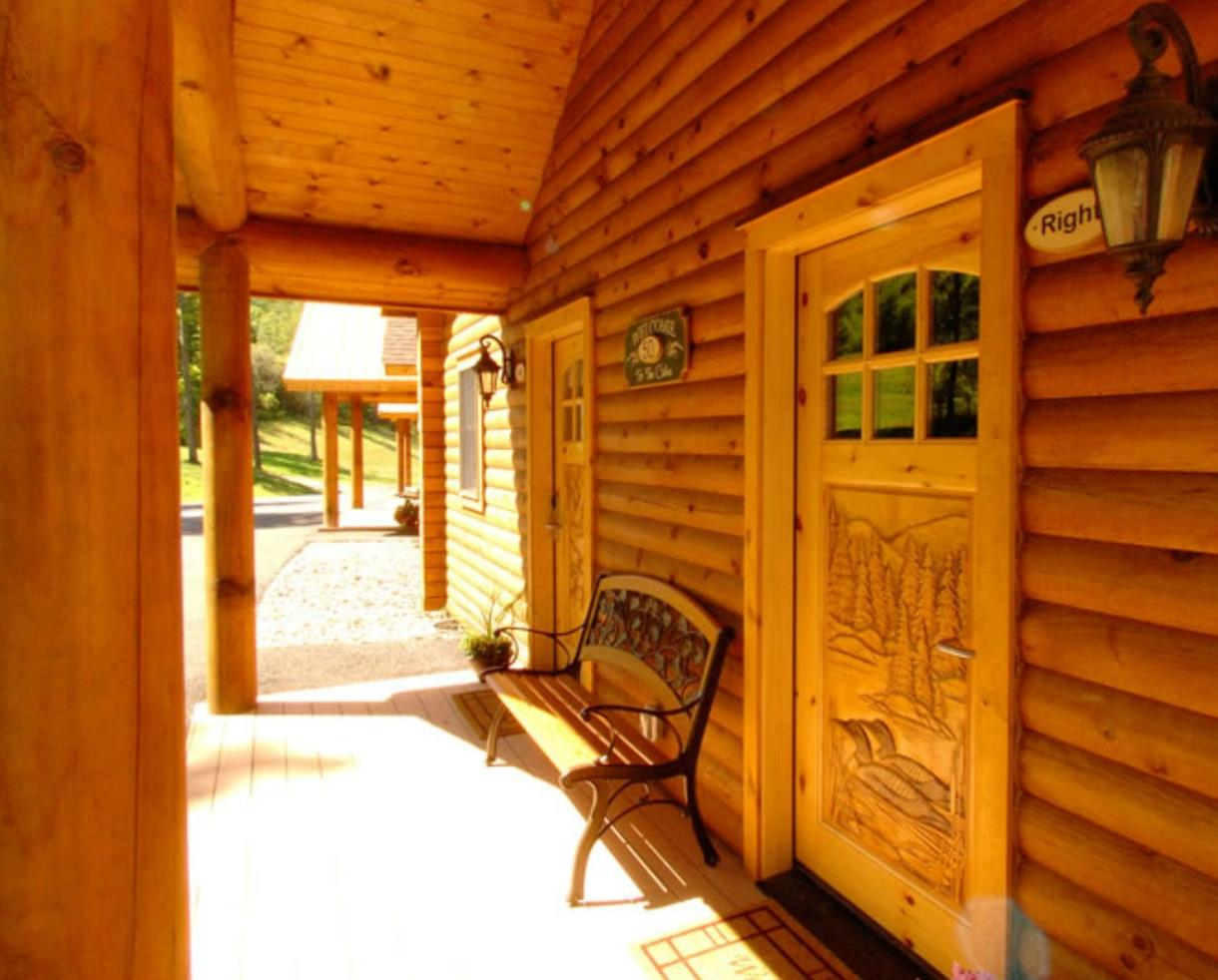 ... $149+ For Luxury Cabin Stay At The Lodges At Sunset Village + Wisp  Resort Lift ...