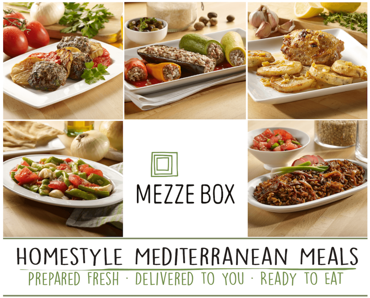 Deal 25 for fresh healthy mediterranean meals delivered right to 25 for fresh healthy mediterranean meals delivered right to your door from brand new mezzebox 50 off forumfinder Choice Image
