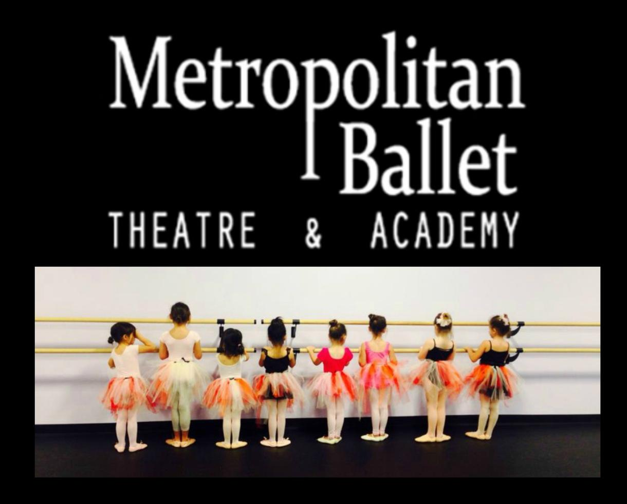 One-Week of Half-Day Metropolitan Ballet Theatre Dance Camp