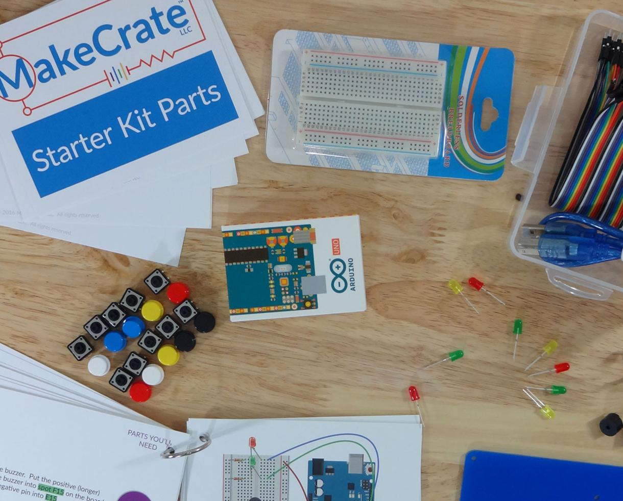 30% Off ALL MakeCrate Electronics and Coding Arduino Kits - Includes Subscription and Single Shipment Kits! Perfect Holiday Gift!