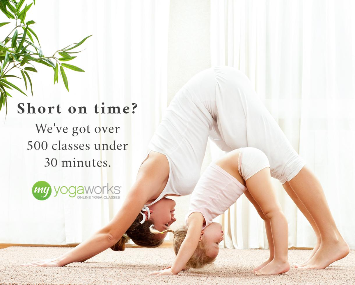 $39 for One Year of Unlimited Premium Online Yoga Classes From MyYogaWorks (79% Off)