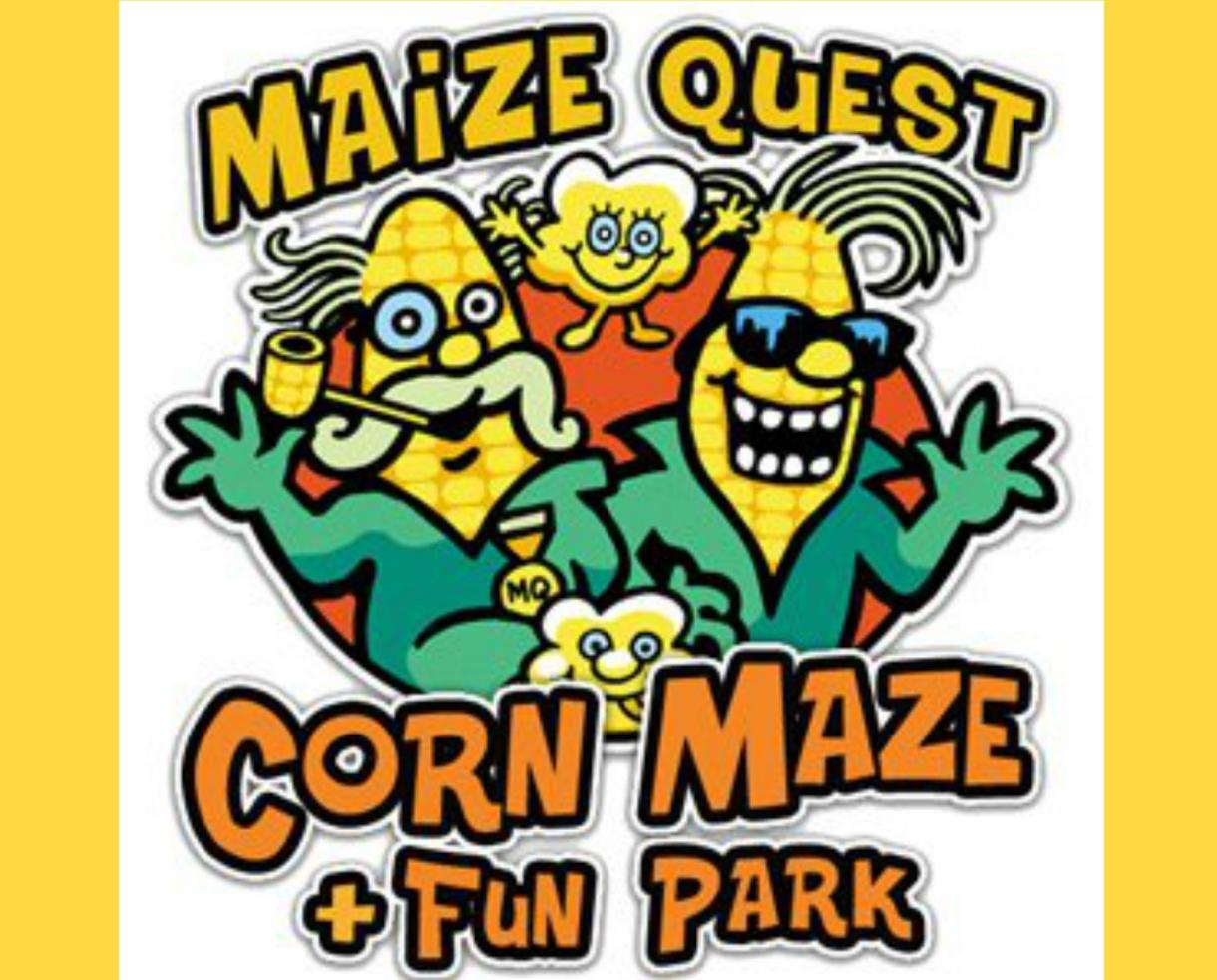 $49 for Family 4-Pack: Arabian Nights Corn Maze, Half-Bushel of Pick Your Own Apples, Trackless Train Rides + Donut & Cider for Each Person at Maize Quest ($99 Value - 51% Off)