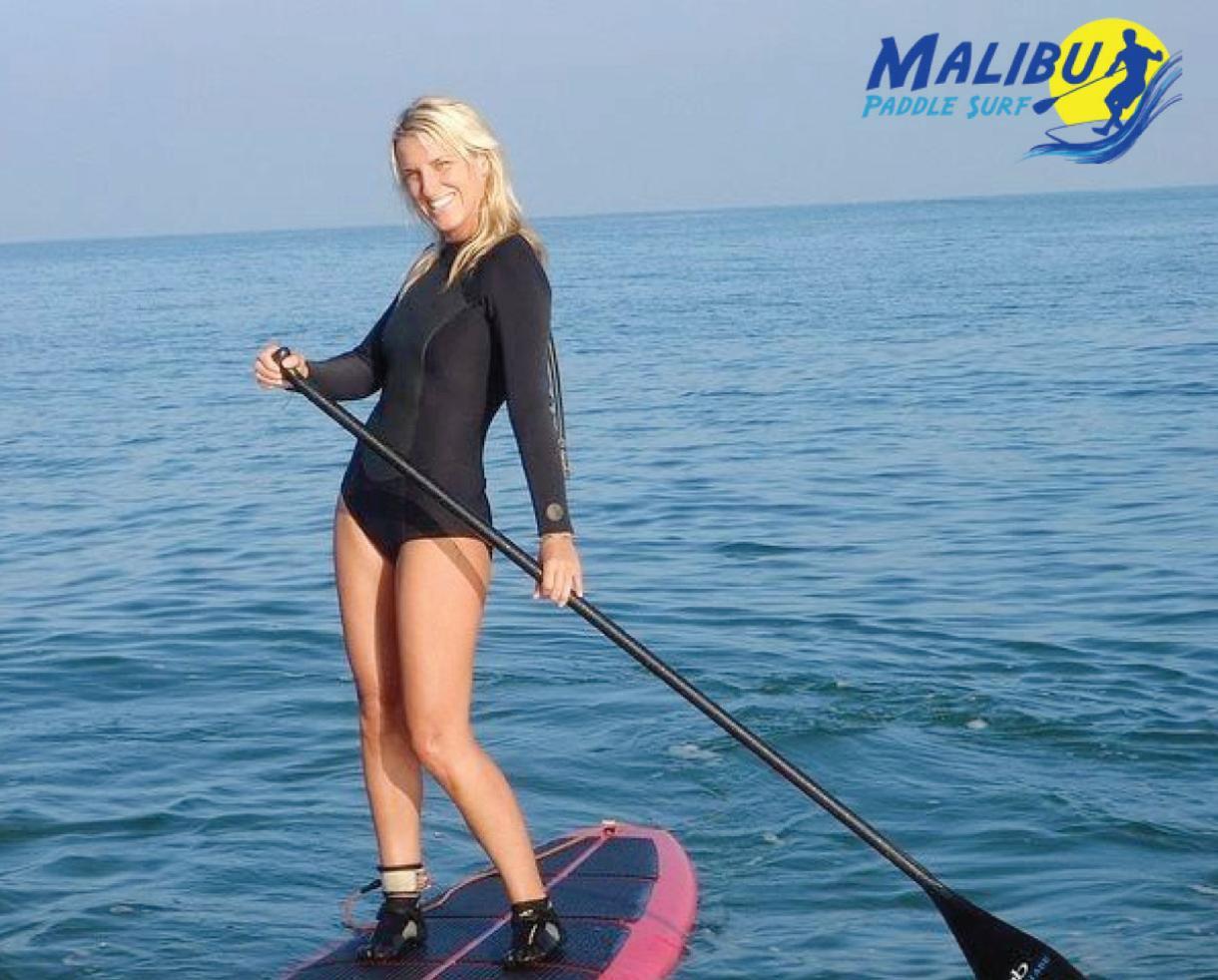 Standup-Paddleboard Rental or Lessons at Malibu Paddle Surf