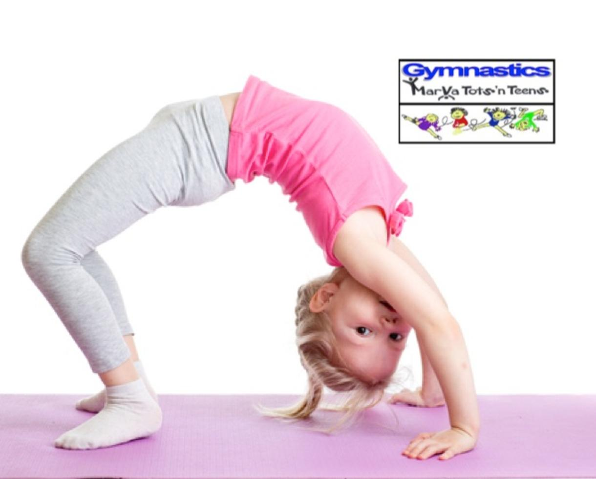 $109 or $184 for MarVaTots n' Teens Gymnastics Camp for Ages 3-18 in Rockville (Up to 23% Off)