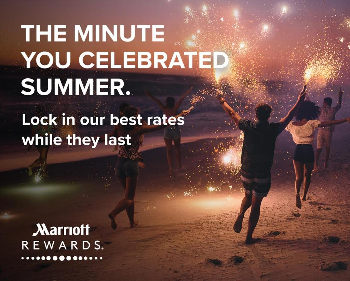Book Your Family Vacation Now for Marriott's Best Rates all Summer Long
