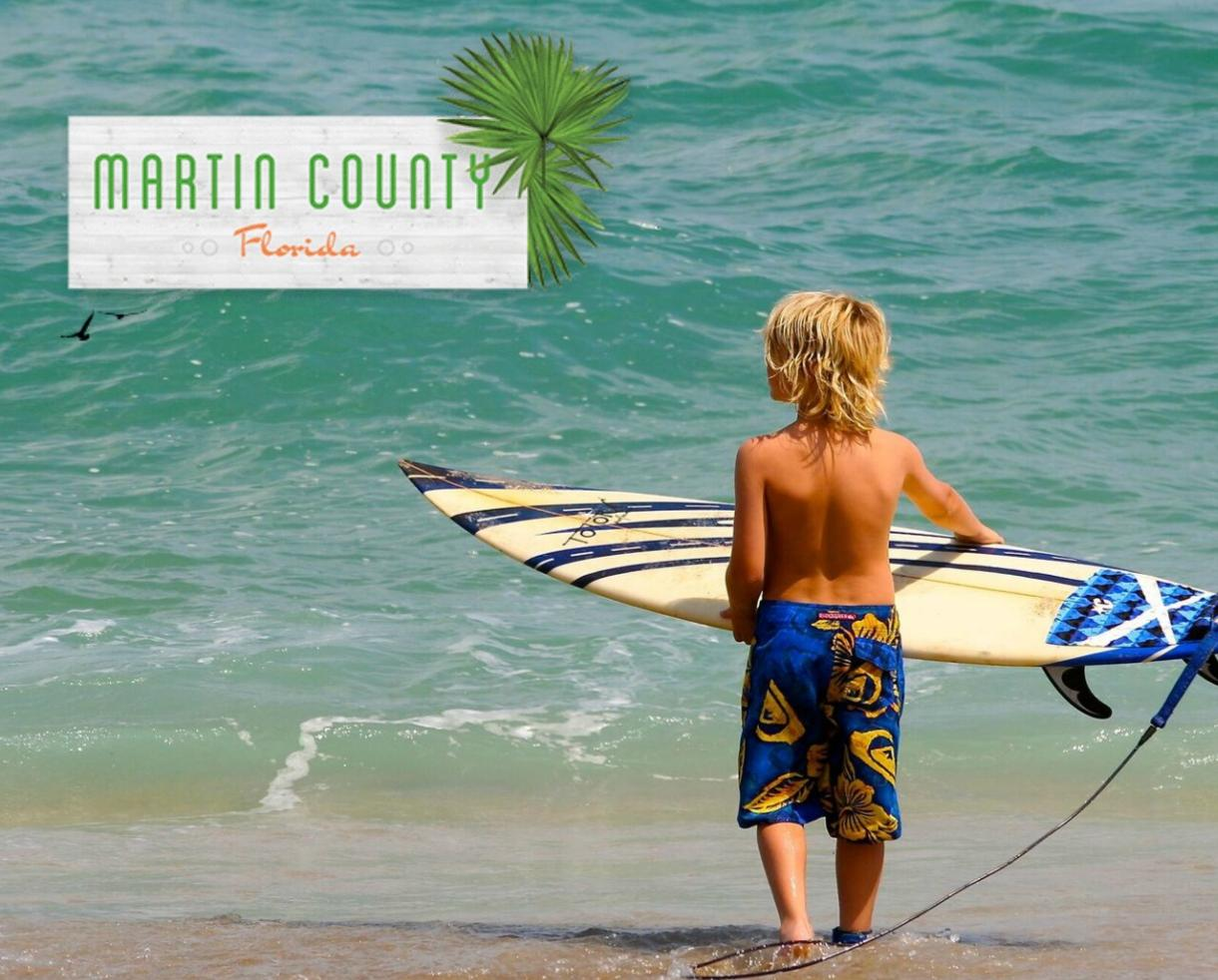Escape to Martin County, Florida for Blue Waves & Small Town Charm!