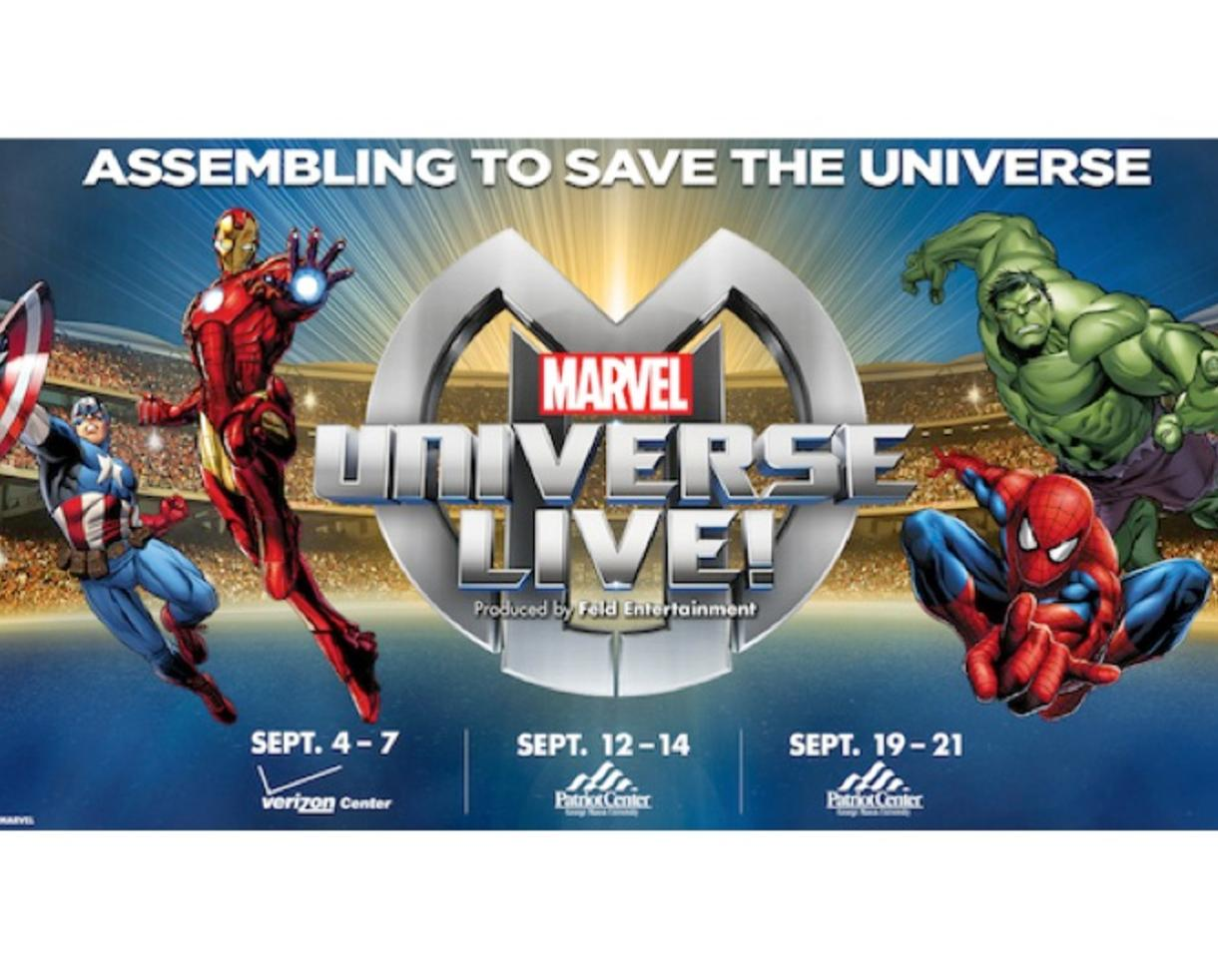 Deal: Last Chance to See Marvel Universe LIVE- 50% Off