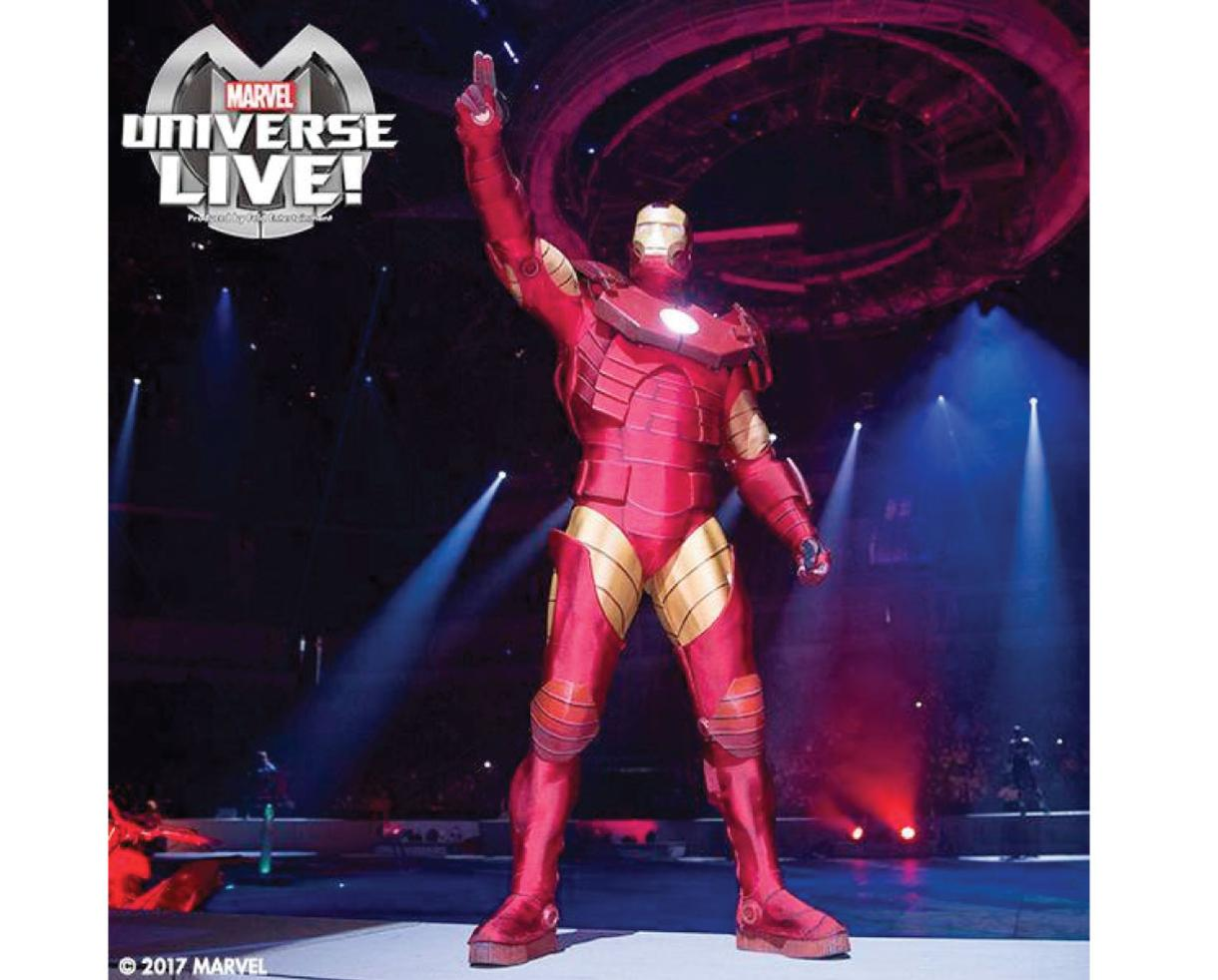 Up to 40% Off Marvel Universe Live Age of Heroes at Royal Farms Arena
