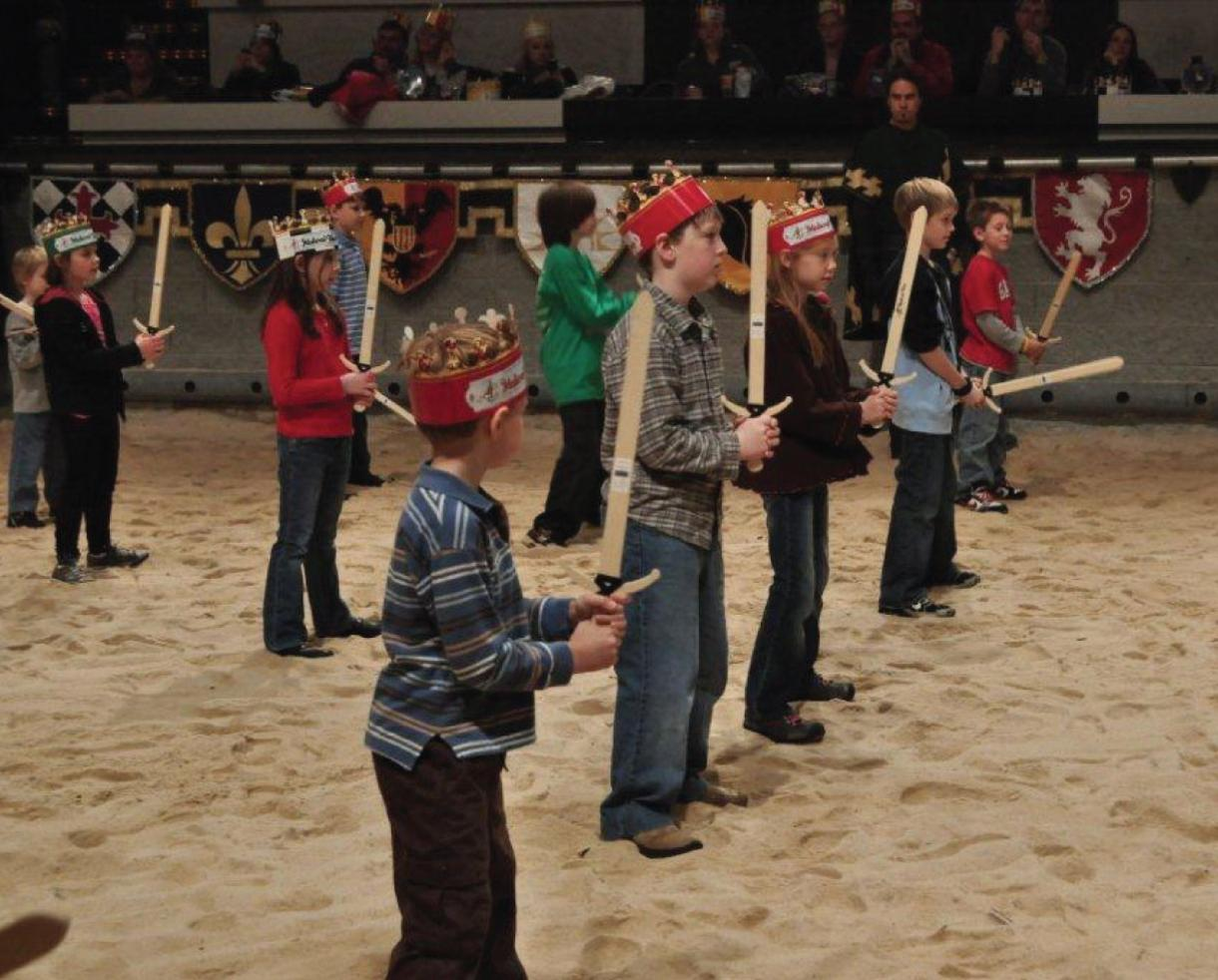 Join Medieval Times for Family New Year's Eve - Lots of FREE Fun! December 31st at 3:30 p.m. in Hanover, MD