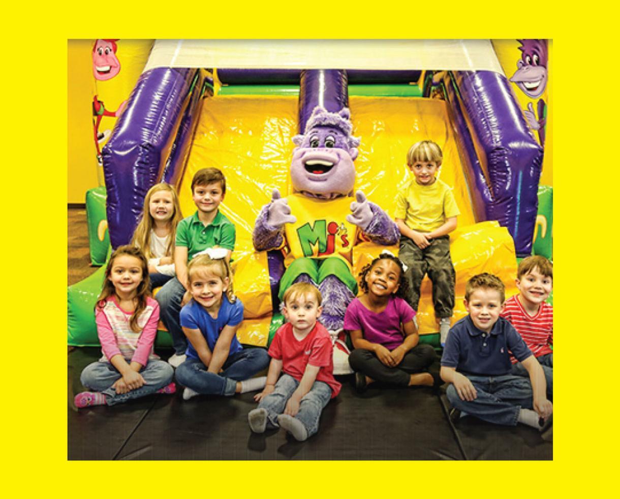 Monkey Joe's Play Center Birthday Party