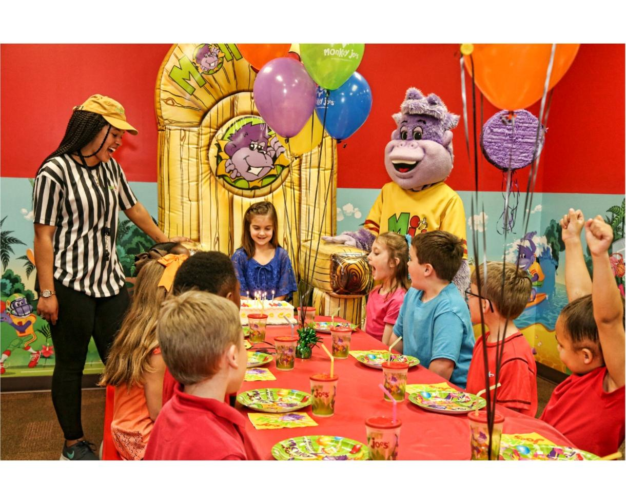$165 for Monkey Joe's 2-Hour Island Excursion Party Package for Up to 8 Kids, Valid Monday-Thursday - Germantown (50% Off)
