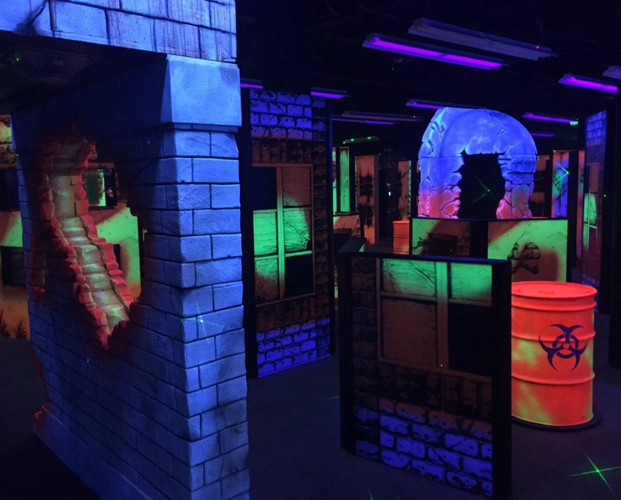 FOUR 2-Packs of Laser Tag - 8 GAMES TOTAL - at Monster Mini Golf