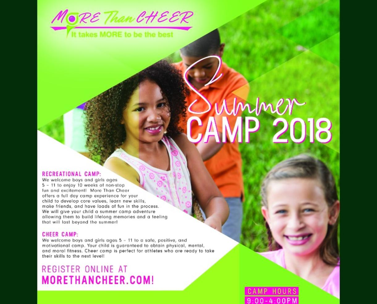More Than Cheer Cheerleading Camp