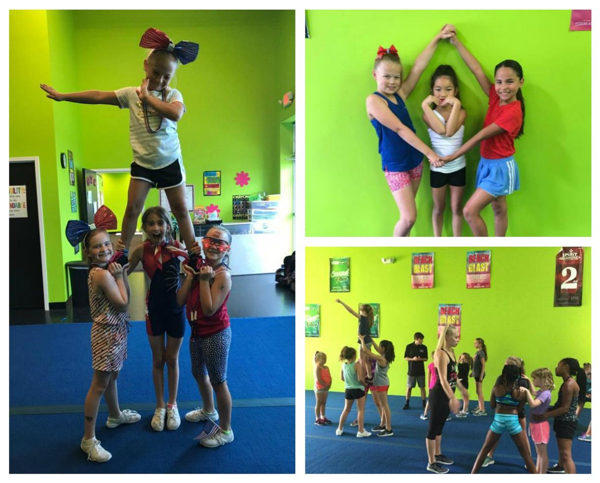 More Than Cheer School's Out Cheerleading Camp