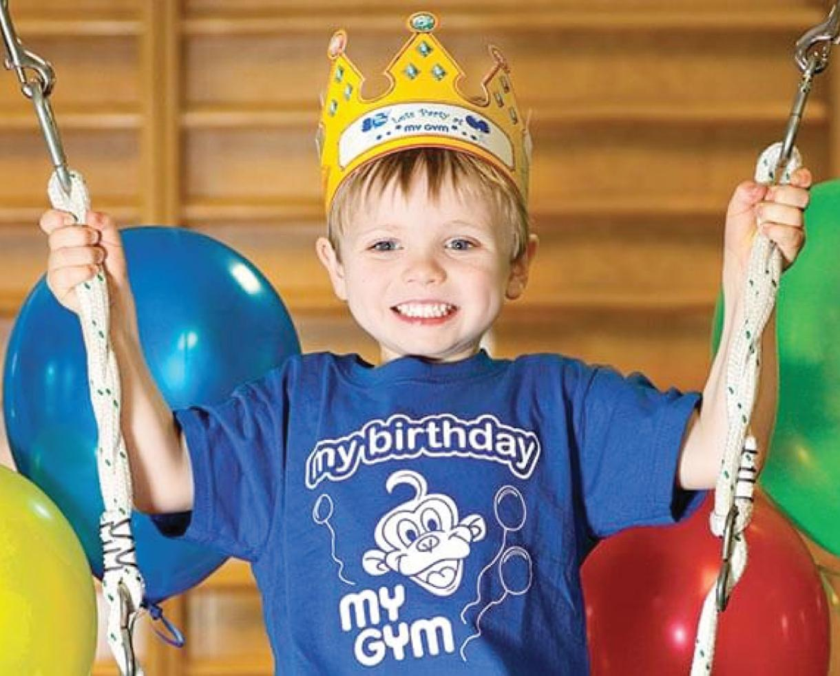 My Gym Chantilly Grand Birthday Party Package