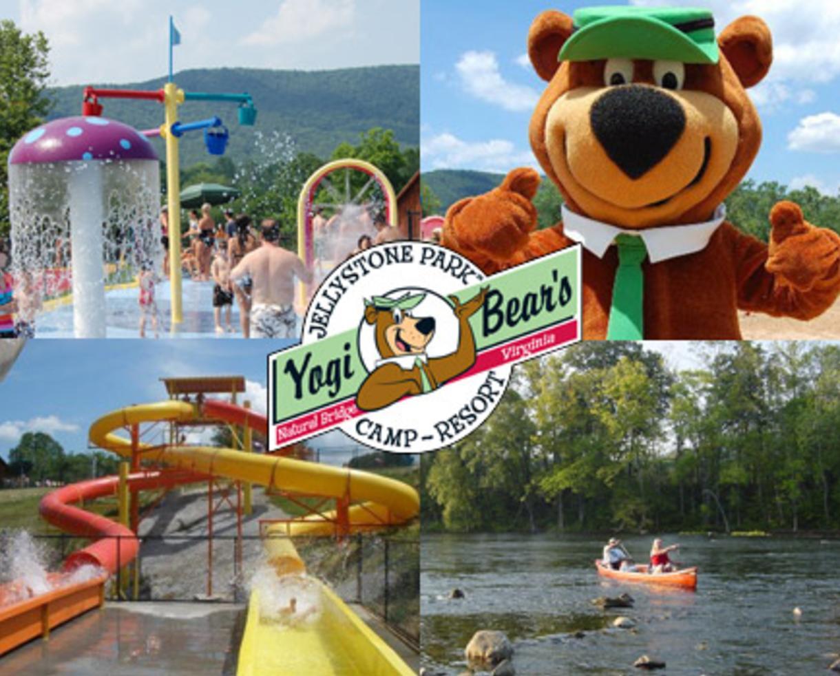 Deal 73 For Yogi Natural Bridge Va 2 Night Vacation Yogi Bear S Jellystone Park In Natural Bridge Va 50 Off Certifikid