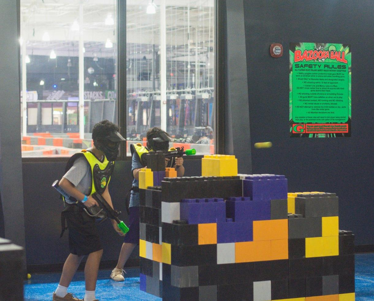 Go Kart Dallas >> Deal: Nitro Zone - Go Karts, Ninja Course, Trampoline, Bazooka Ball & More! | CertifiKID