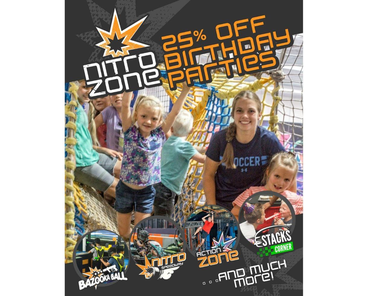 Nitro Kids Birthday Party