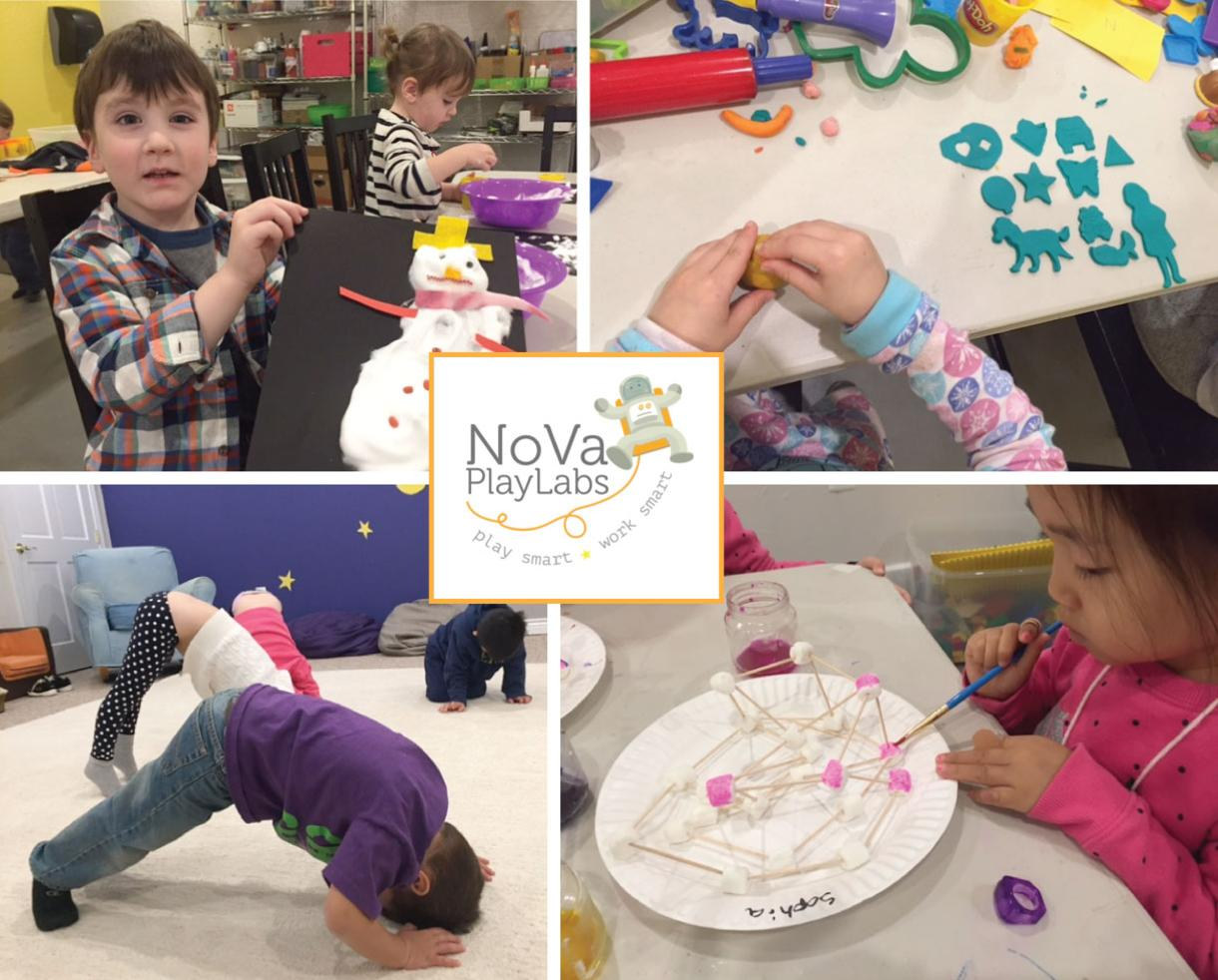 $40 for 4-Weeks of Preschool Classes for Ages 18 Mos-6 at NoVA PlayLabs in Chantilly ($60 Value - 34% Off)